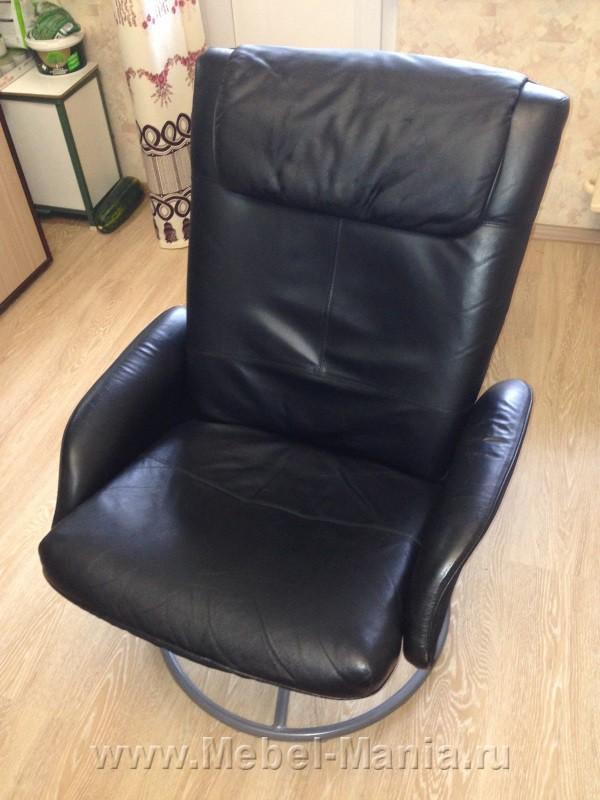 Продам кожаное кресло, бежевого цвета, приобреталось в магазине IKEA. . Кресло в хорошем состоянии