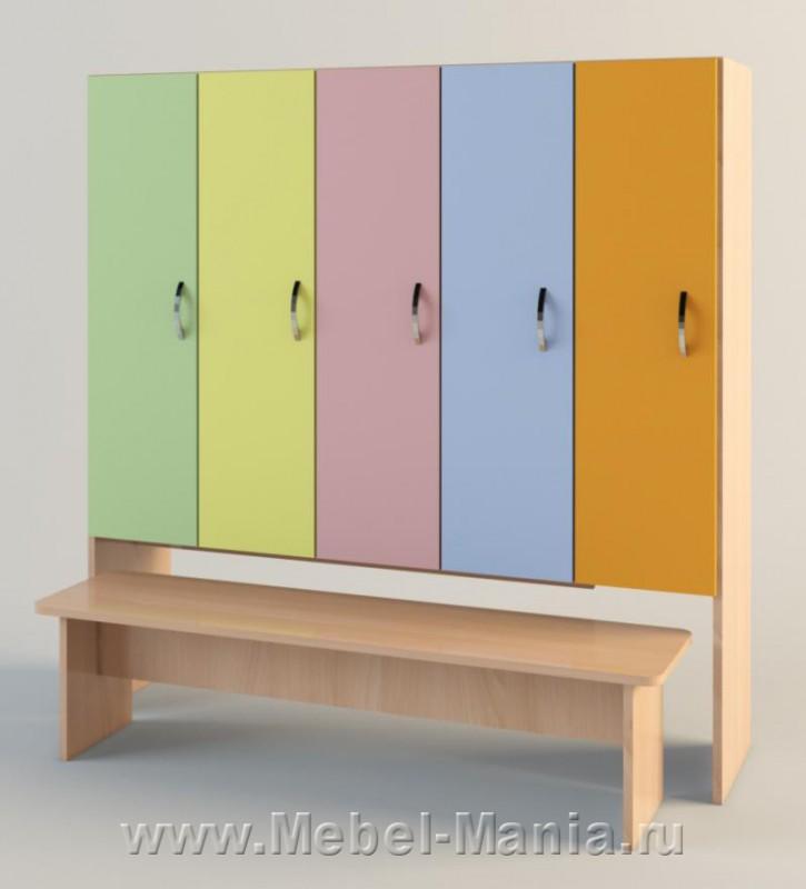 детские шкафчики в садике фото
