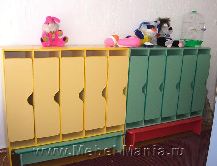 Детский шкафчик в садик 35