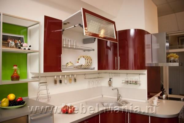 кухни бордо фото